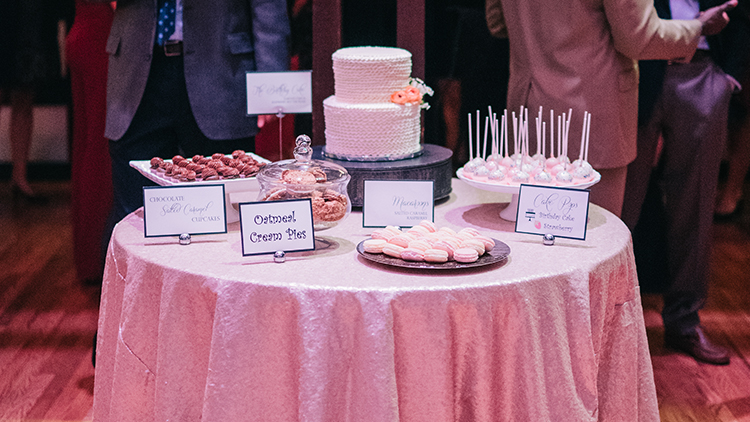Wow your guests with creative and delicious dessert stations from Infinity Events & Catering.