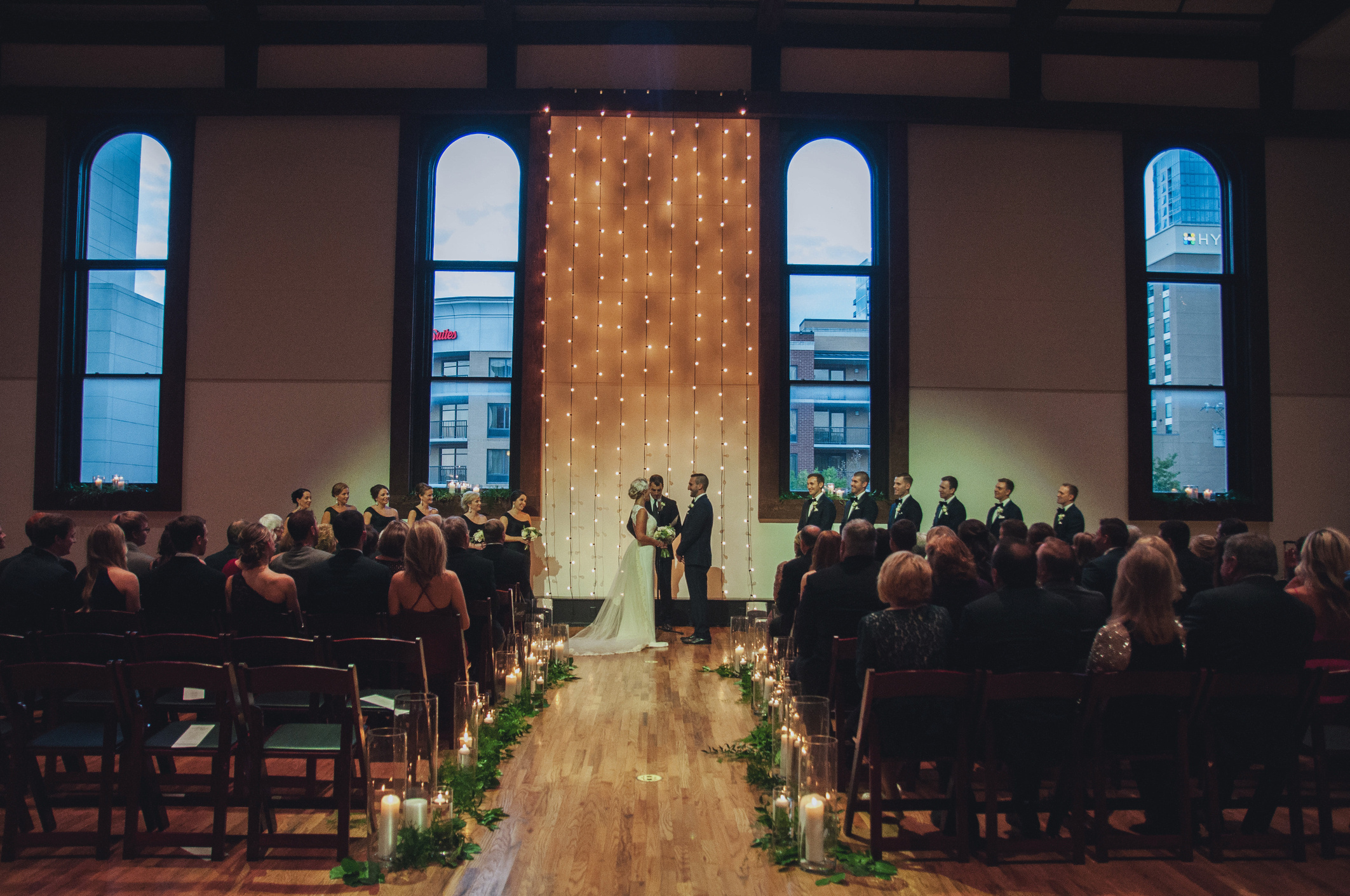 Natalie and Tyler's Fall Wedding at The Bell Tower