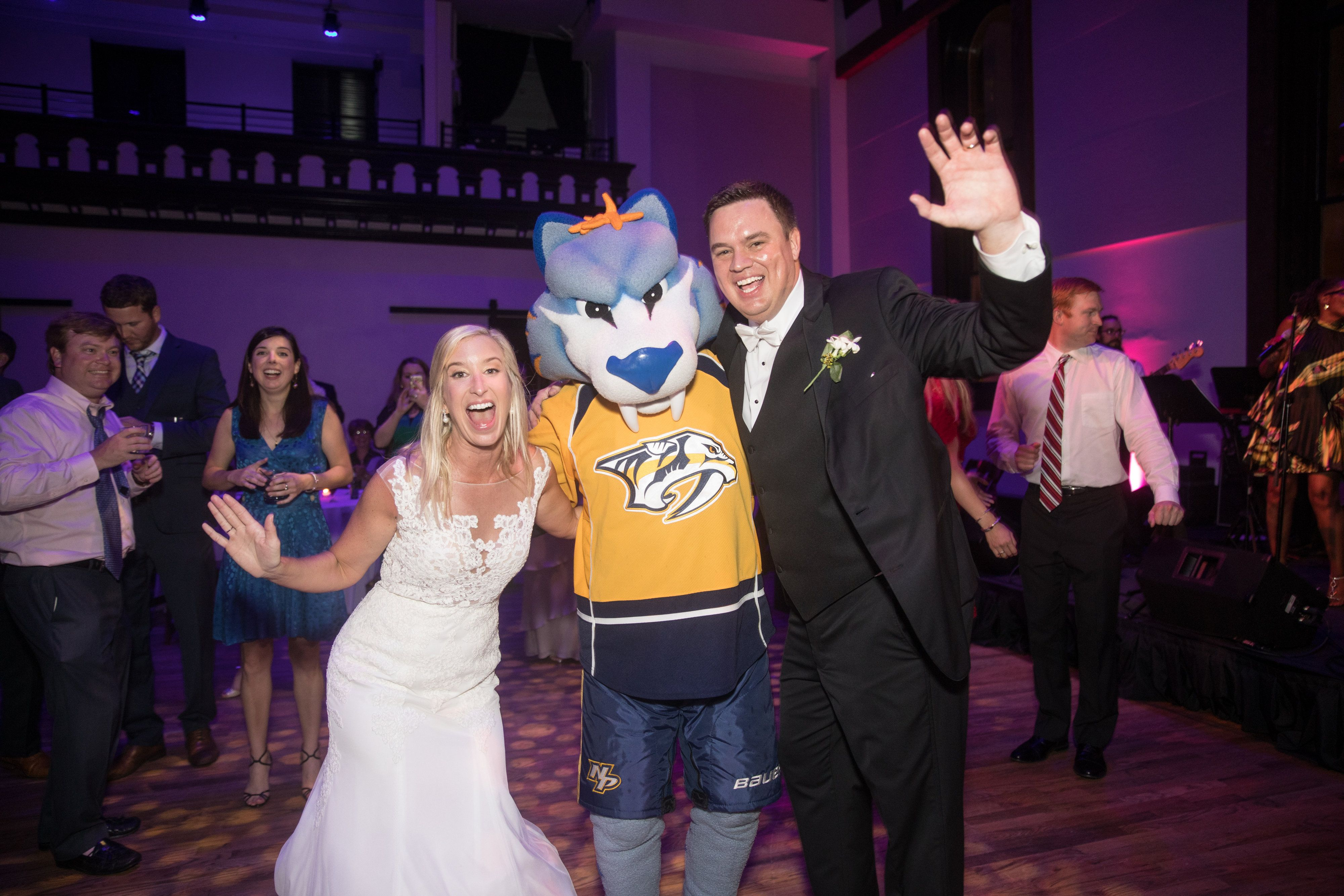 Kelly and Richard with Gnash