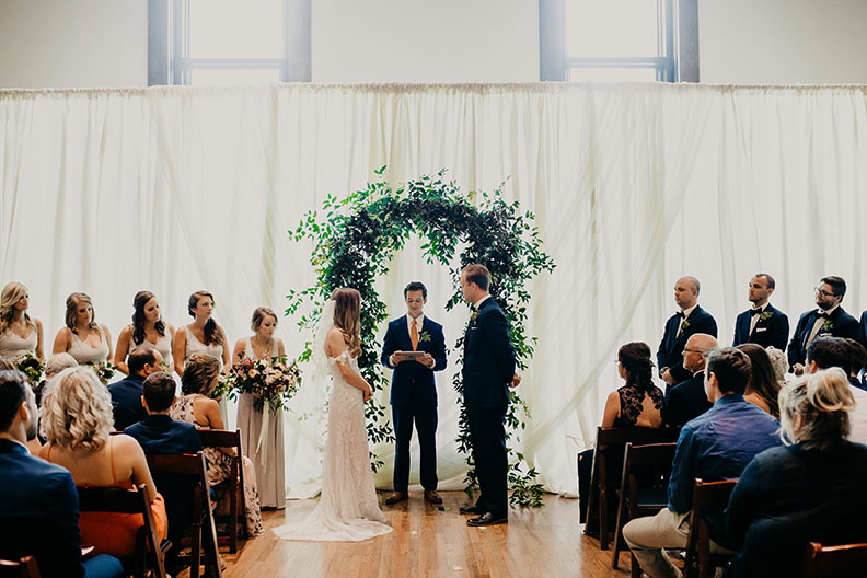 Lauren and Wade's Wedding Ceremony at The Bell Tower