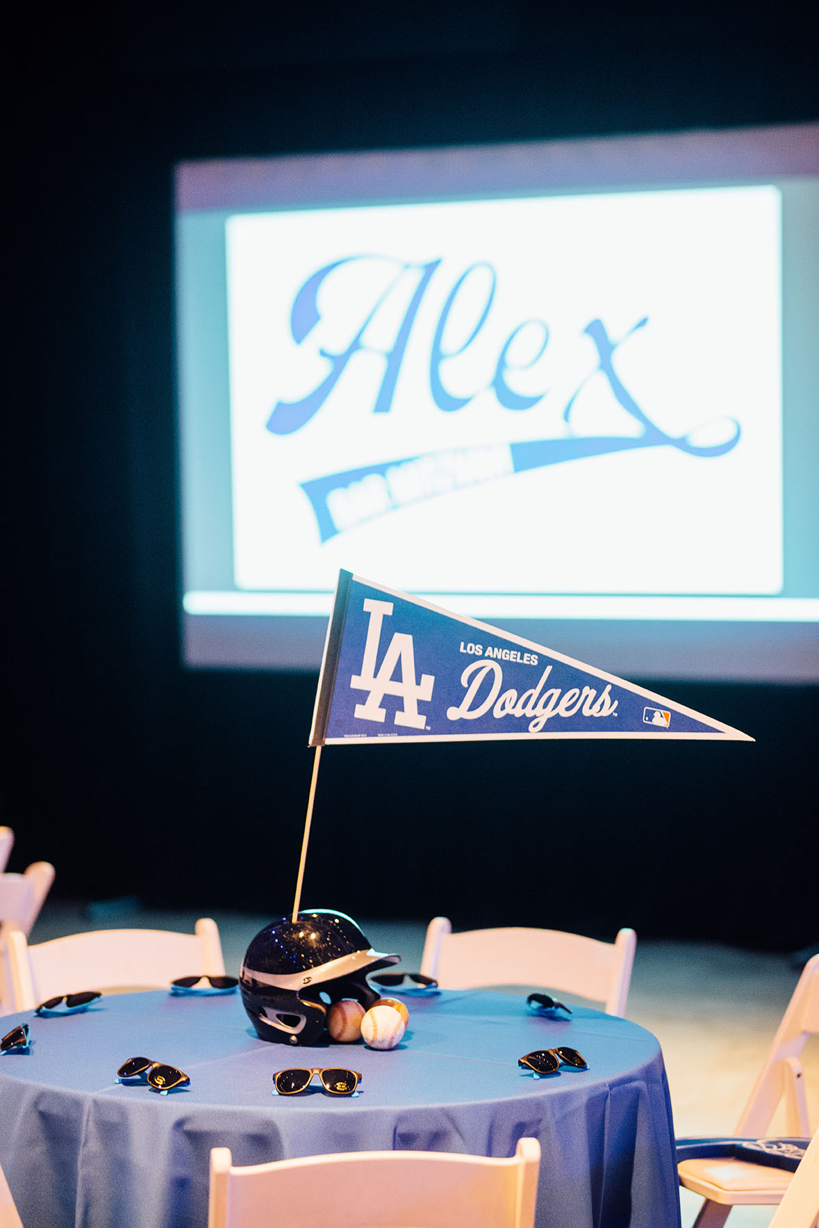 Baseball Themed Bar Mitzvah at OZ Arts Nashville