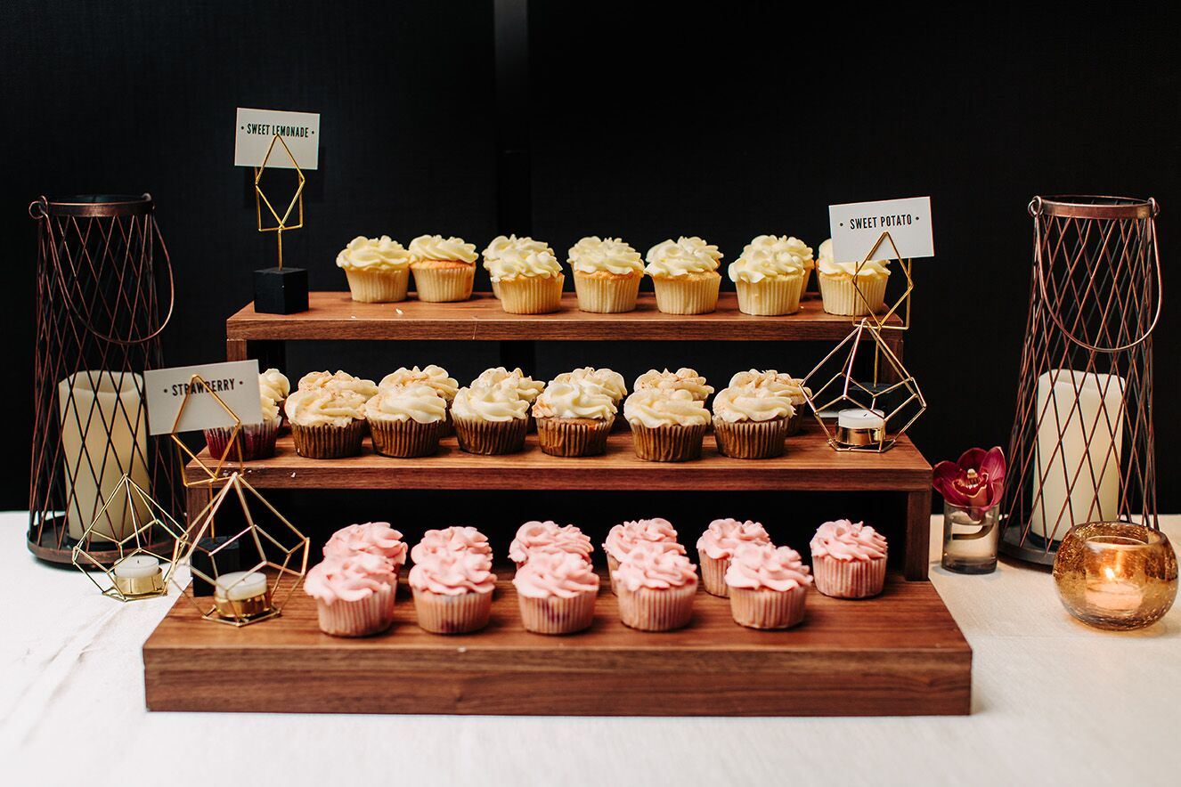 Meghan and Kevin's cupcakes