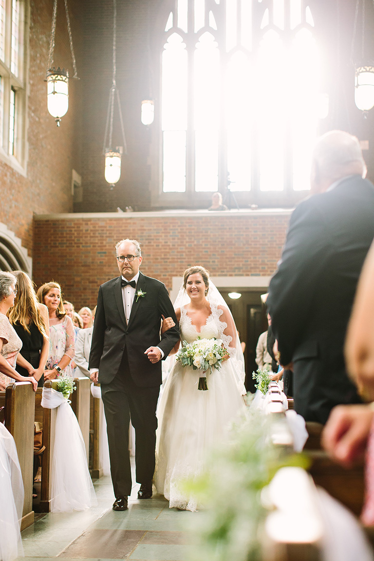 Katye and Russell's Wedding Ceremony with Infinity Events & Catering