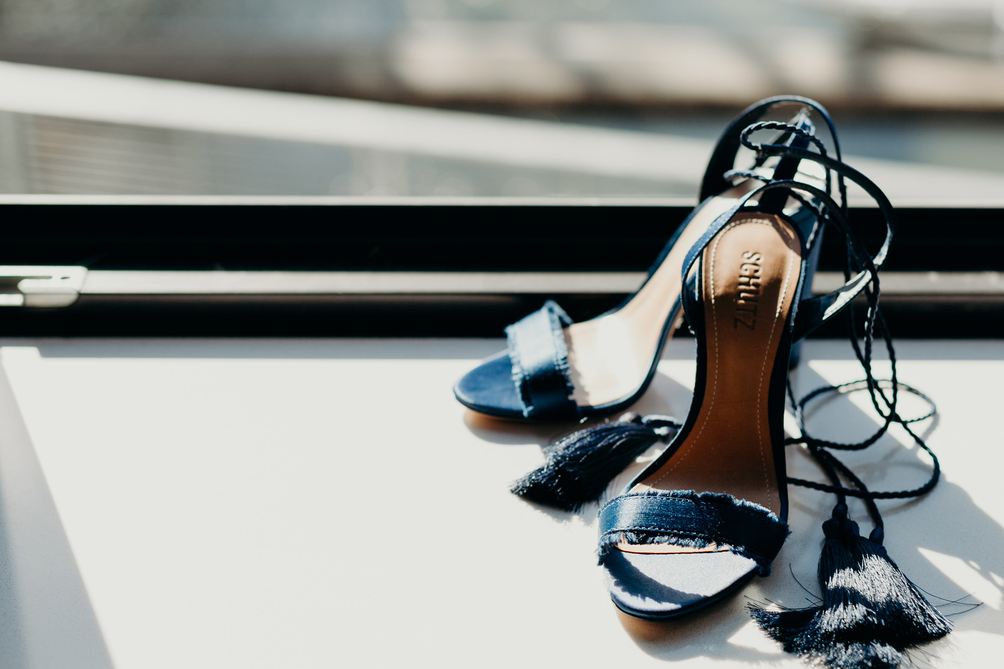 Chelsey's wedding shoes