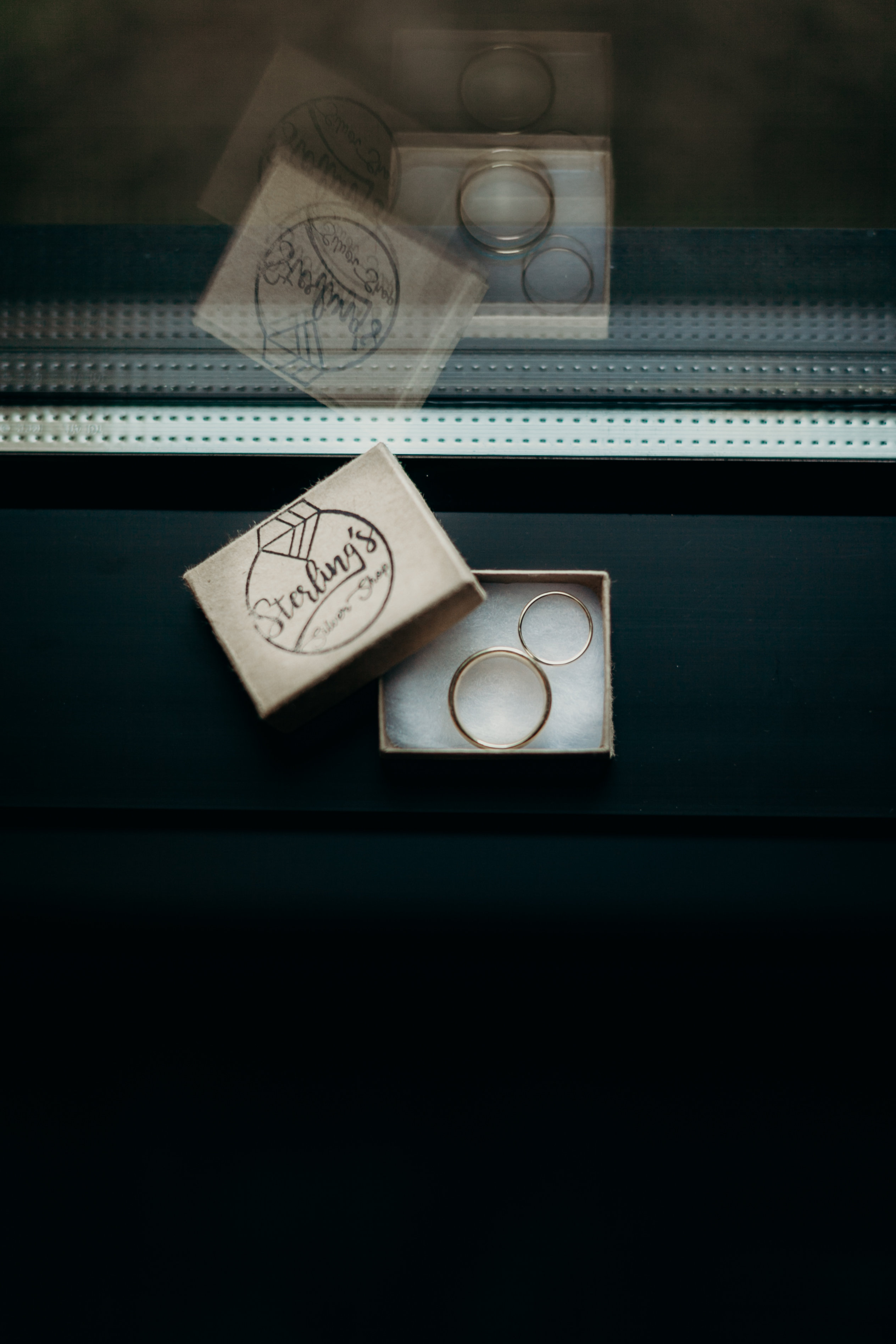 Chelsey and Parker's wedding rings