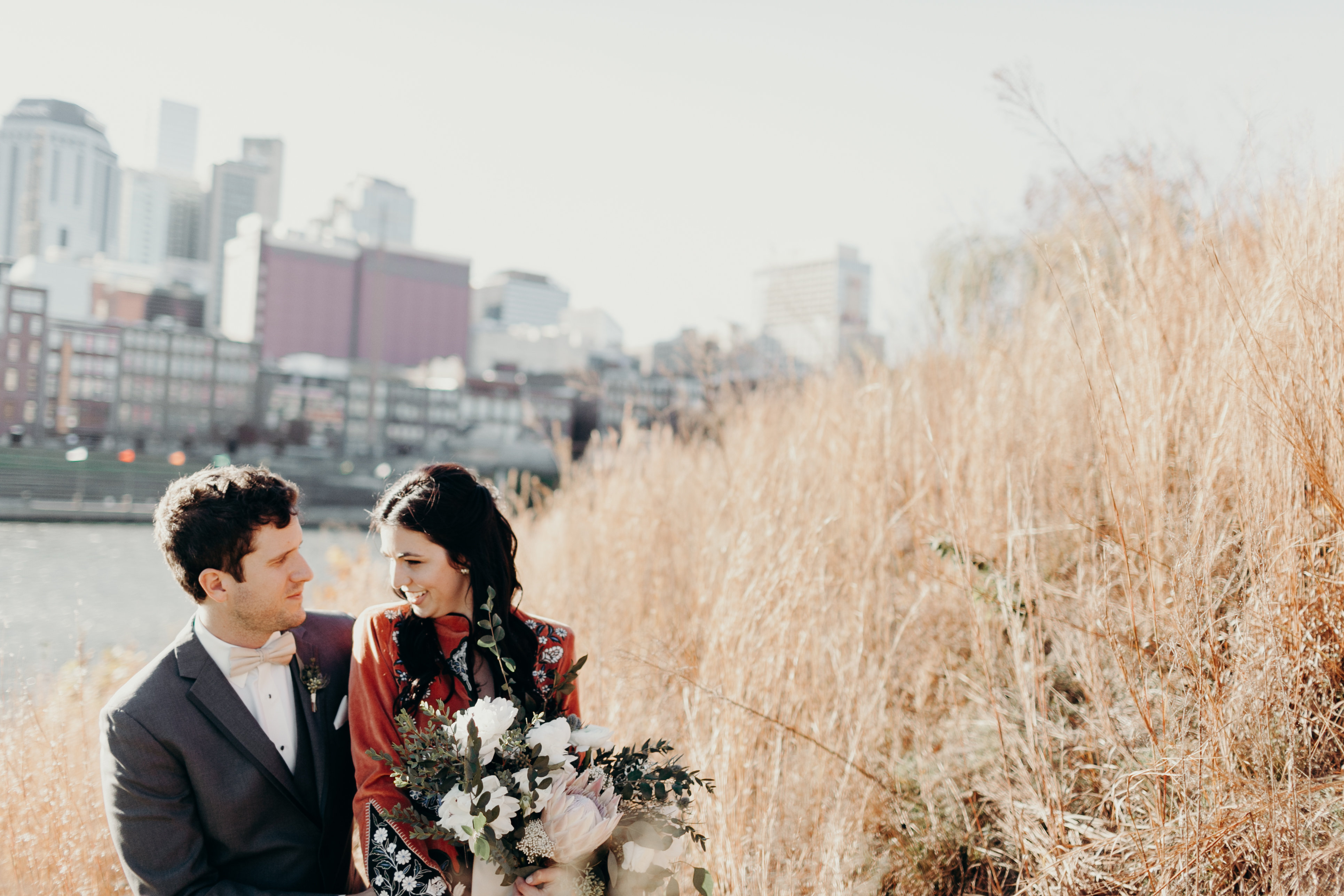 Chelsey and Parkers wedding portrait