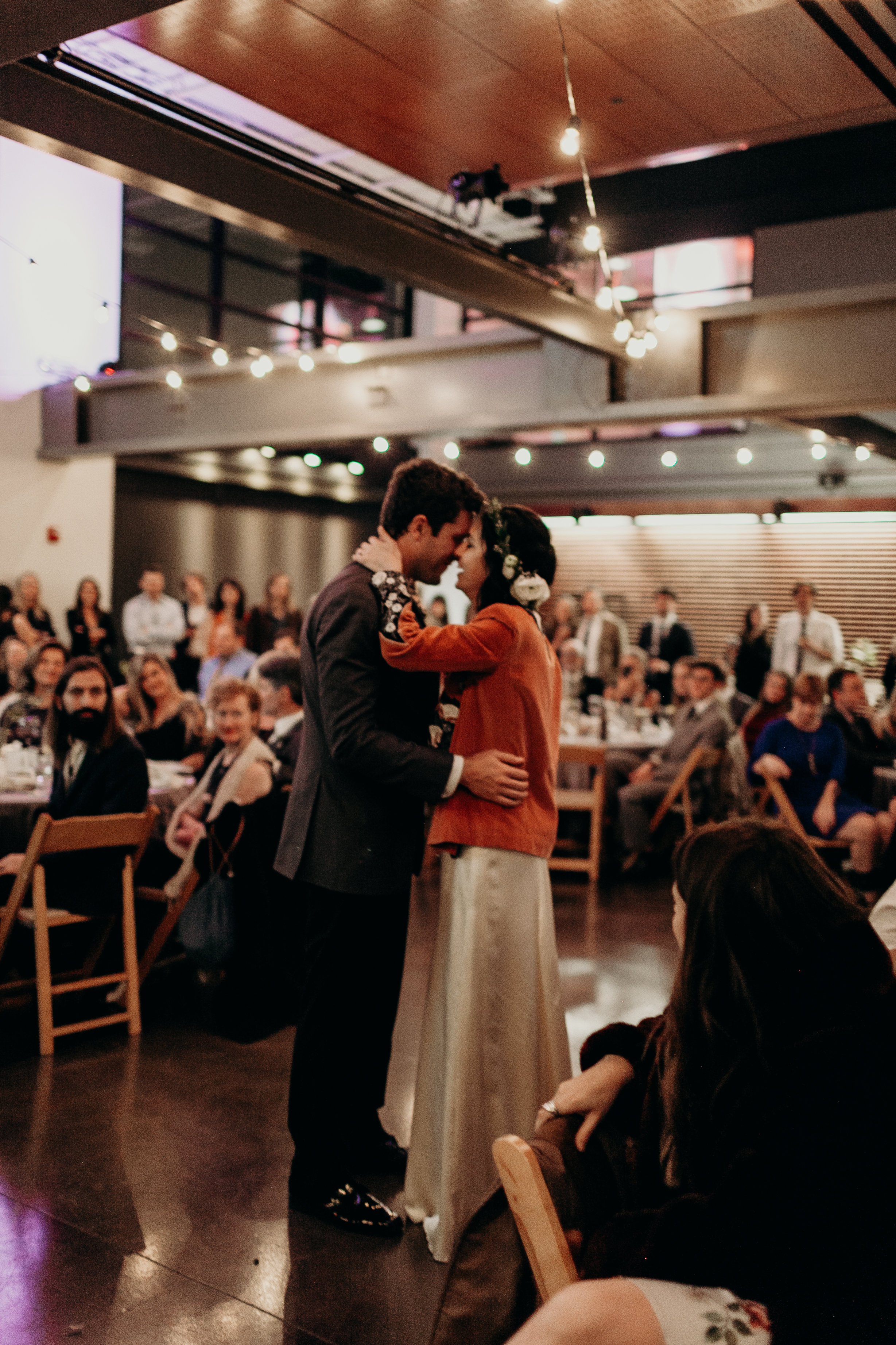 Chelsey and Parker's first dance