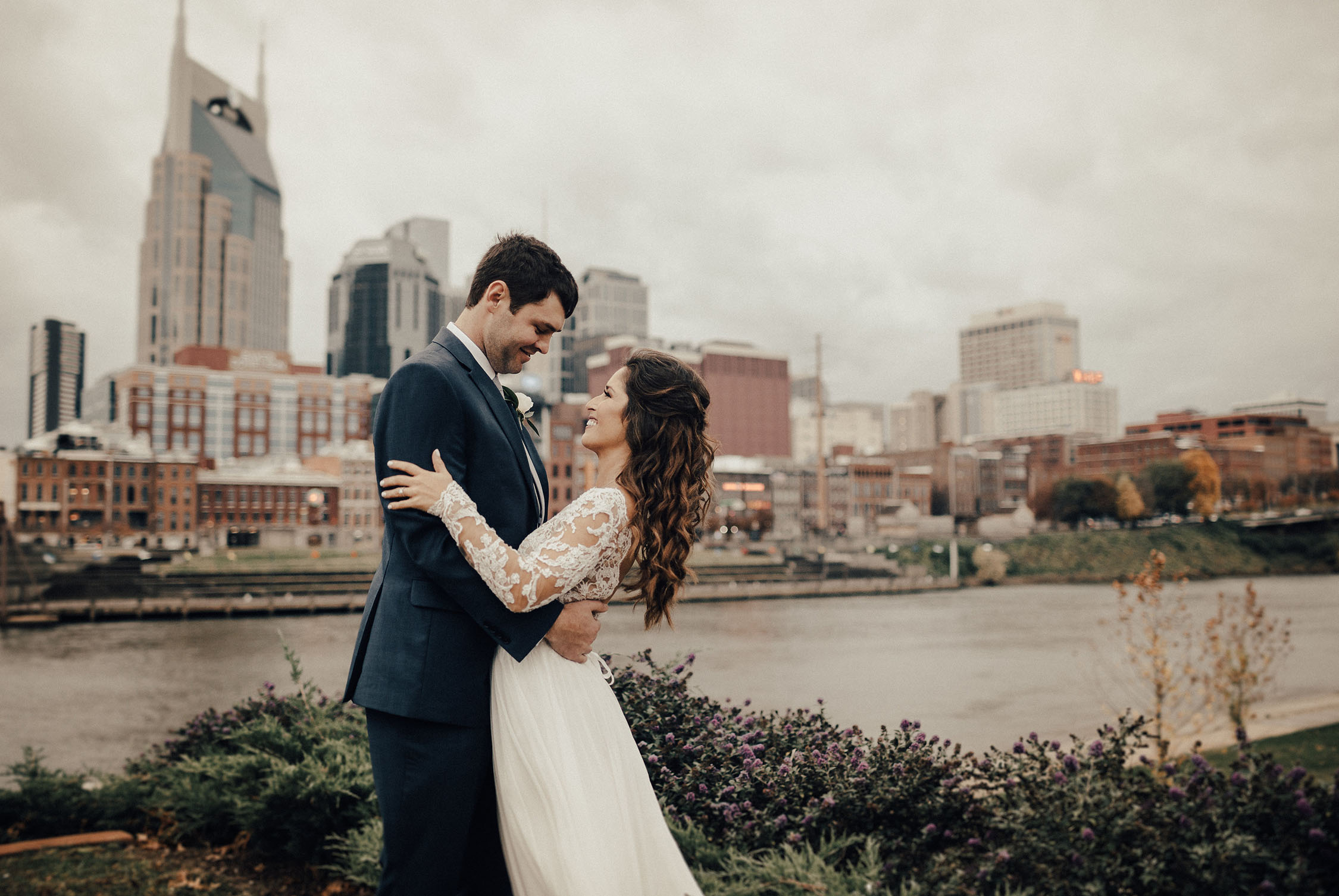 A sweet wedding with Big Events at The Bridge Building.