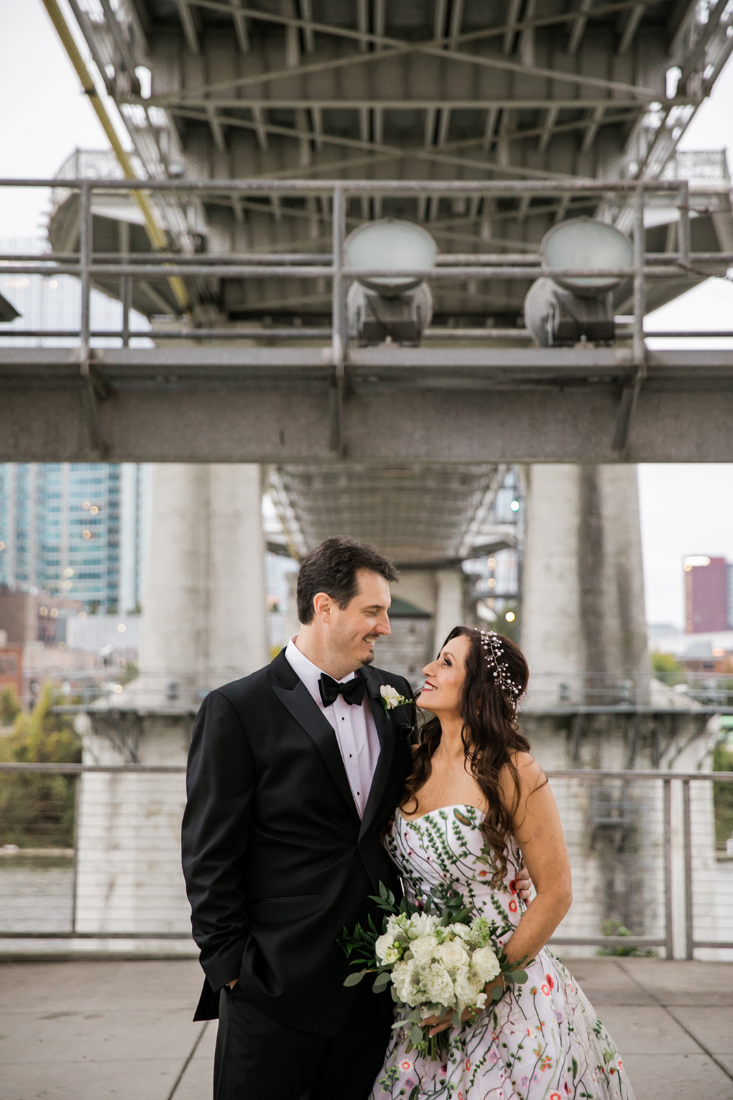 Tammy and Jeff's Nashville Wedding at The Bridge Building